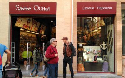 Los asistentes disfrutarán de un 10% de descuento en la Librería Santos Ochoa