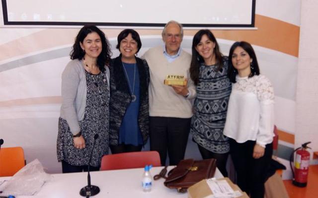 Alfredo Canevaro, socio de honor de la ATFRM