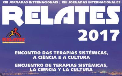 XIII Jornadas Internacionales Relates 2017. Encuentro de Terapia Sistémicas. La Ciencia y la Cultura